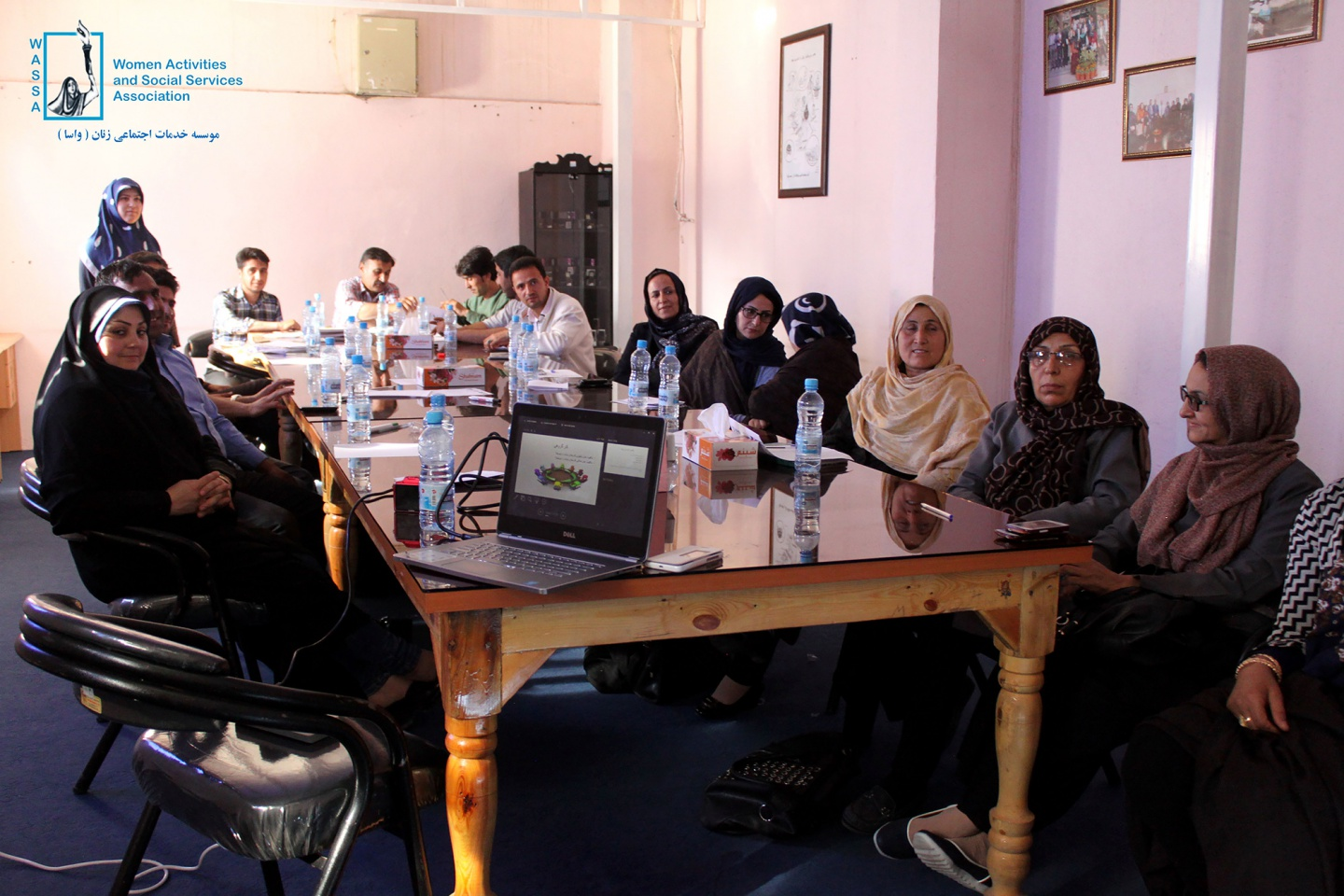 Capacity building training for government staffs