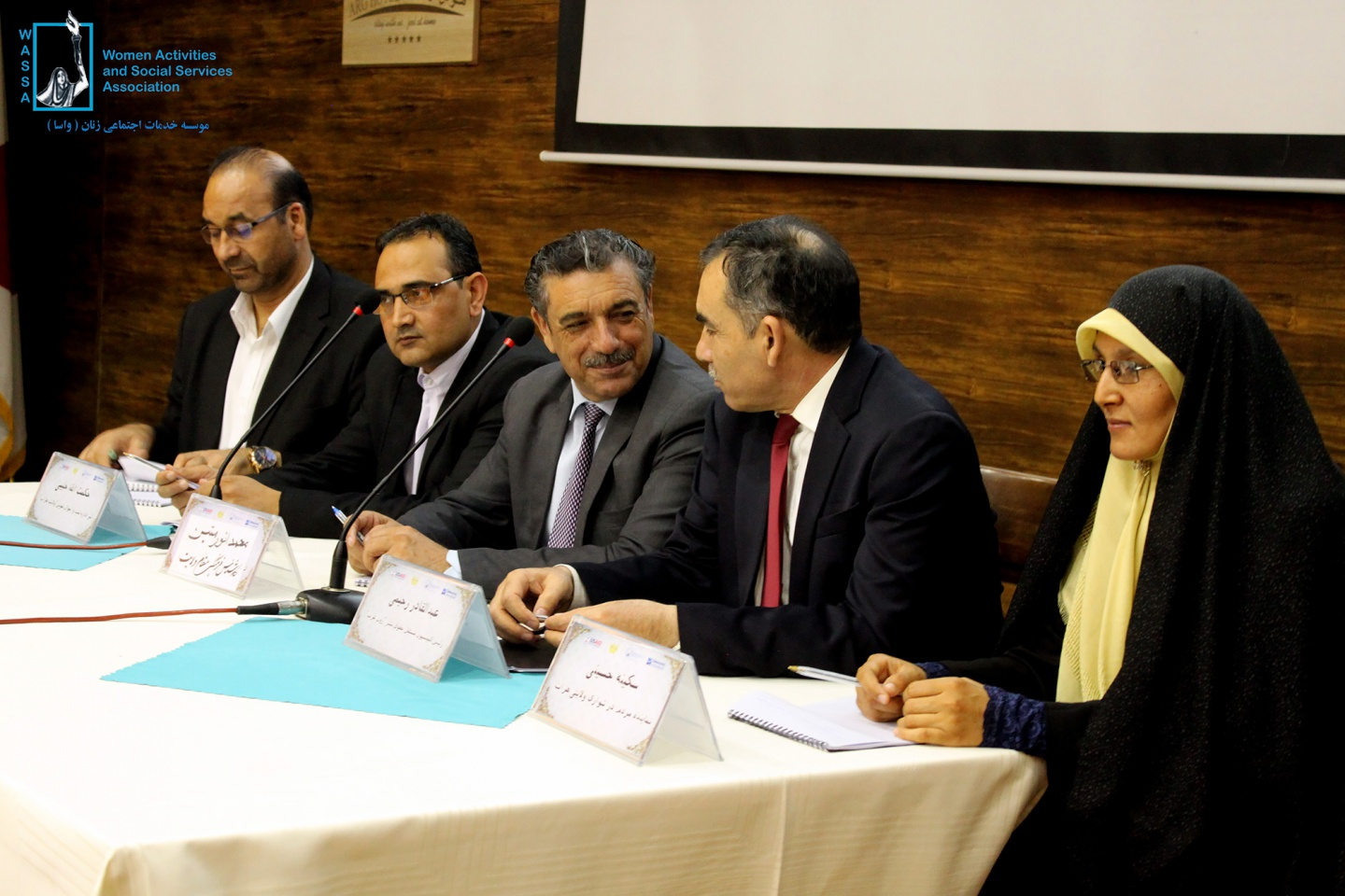 Dialog session between civil society representative and Herat's high officials