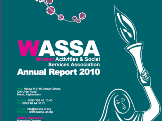 WASSA 2010 Annual Report