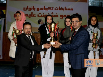 Women taekwondo tournament