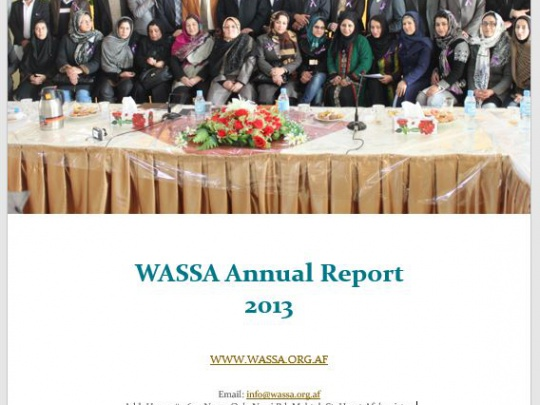 WASSA Annual Report 2013